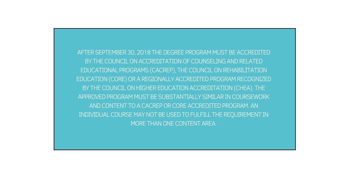 CACREP Standard CPCS Supervision